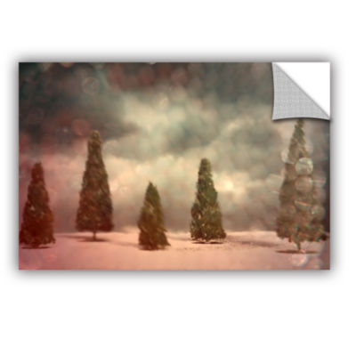 Brushstone 5 Pine Removable Wall Decal