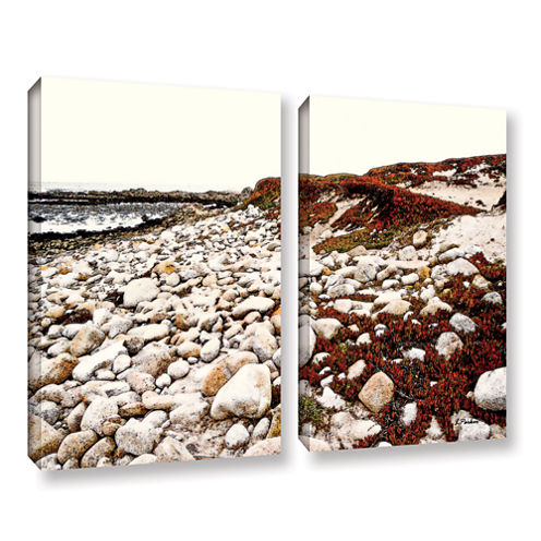 A Pebble Beach 2-pc. Gallery Wrapped Canvas Wall Art