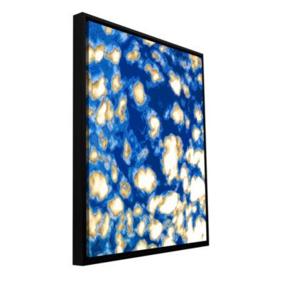 Brushstone 9 Golden Innings Gallery Wrapped Floater-Framed Canvas Wall Art