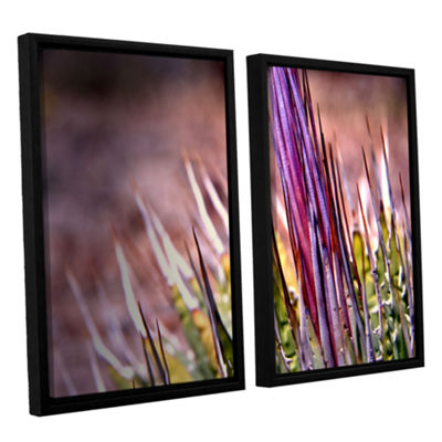 Brushstone Agave 2-pc. Floater Framed Canvas WallArt