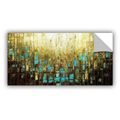 Brushstone Abstract Neutral 2 Removable Wall Decal