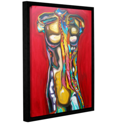 Brushstone 92 Percent Water Gallery Wrapped Floater-Framed Canvas Wall Art
