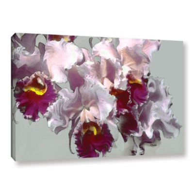 Abstract Orchid Gallery Wrapped Canvas Wall Art