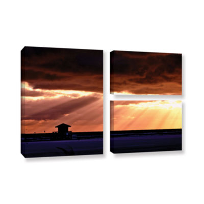 Brushstone 9992AA 3-pc. Flag Gallery Wrapped Canvas Wall Art