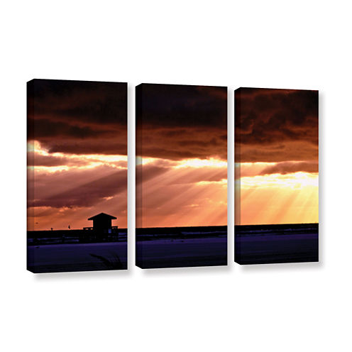 9992AA 3-pc. Gallery Wrapped Canvas Wall Art