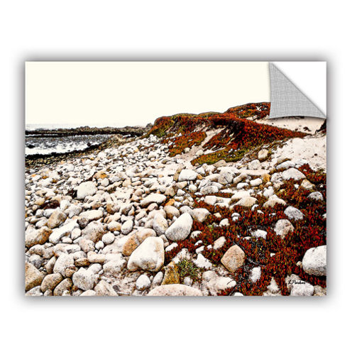 A Pebble Beach Removable Wall Decal