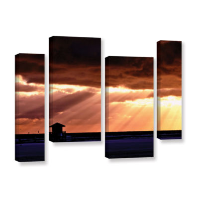 Brushstone 9992AA 4-pc. Gallery Wrapped StaggeredCanvas Wall Art