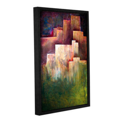 Brushstone A Place For Solace Gallery Wrapped Floater-Framed Canvas Wall Art