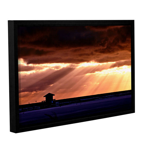 9992aa Gallery Wrapped Floater-Framed Canvas WallArt