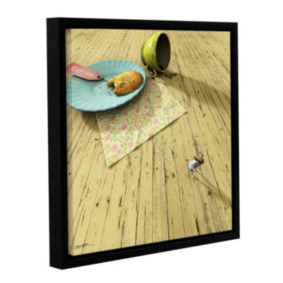 Brushstone Alice Gallery Wrapped Floater-Framed Canvas Wall Art