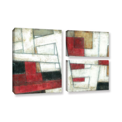 Brushstone Alignment 3-pc. Flag Gallery Wrapped Canvas Wall Art