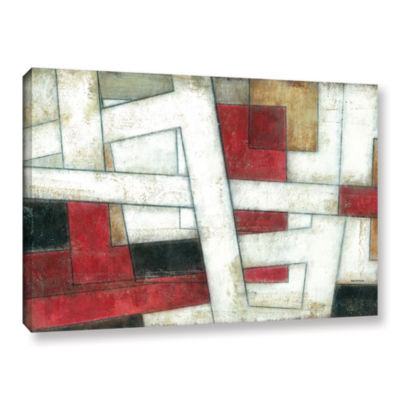 Brushstone Alignment Gallery Wrapped Canvas Wall Art