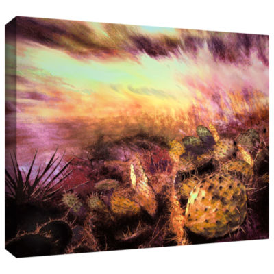 Brushstone A southwest wind Gallery Wrapped CanvasWall Art