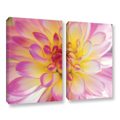 Brushstone All Dahled Up 2-pc. Gallery Wrapped Canvas Wall Art