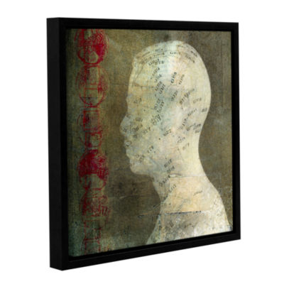 Brushstone Acupuncture Gallery Wrapped Floater-Framed Canvas Wall Art