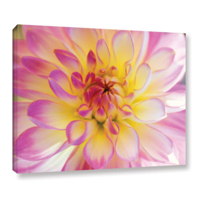 Brushstone All Dahled Up Gallery Wrapped Canvas Wall Art