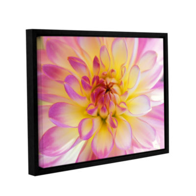 Brushstone All Dahled Up Gallery Wrapped Floater-Framed Canvas Wall Art