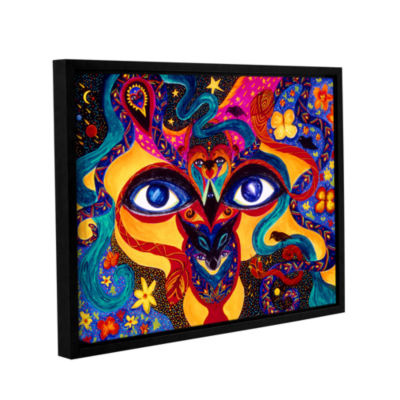Brushstone All Seeing Gallery Wrapped Floater-Framed Canvas Wall Art