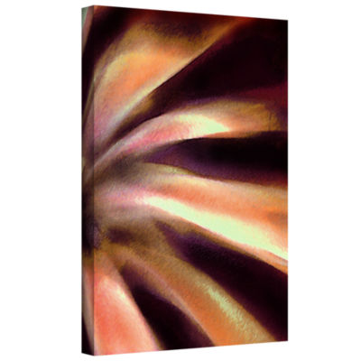 Brushstone Agave en movimiento Gallery Wrapped Canvas Wall Art