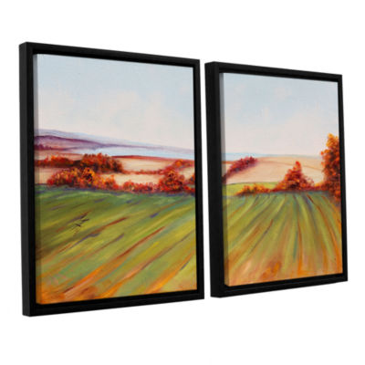 Brushstone All That Remains 2-pc. Floater Framed Canvas Wall Art