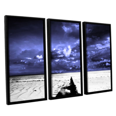 Brushstone A Summers Day 3-pc. Floater Framed Canvas Wall Art