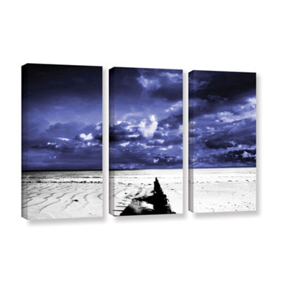 Brushstone A Summers Day 3-pc. Gallery Wrapped Canvas Wall Art