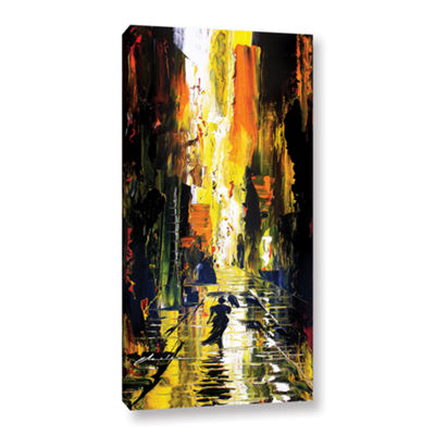 Brushstone Allie 2 Gallery Wrapped Canvas Wall Art