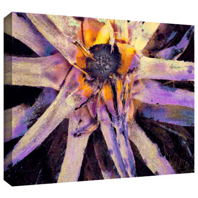 Brushstone Agave Glow Gallery Wrapped Canvas WallArt