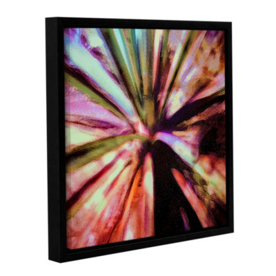 Brushstone Agave Glow Gallery Wrapped Floater-Framed Canvas Wall Art
