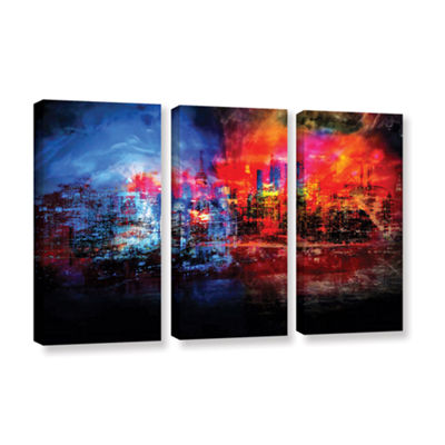Brushstone A Tale Of Two Cities 3-pc. Gallery Wrapped Canvas Wall Art