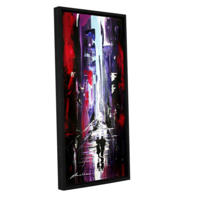 Brushstone Allie Gallery Wrapped Floater-Framed Canvas Wall Art