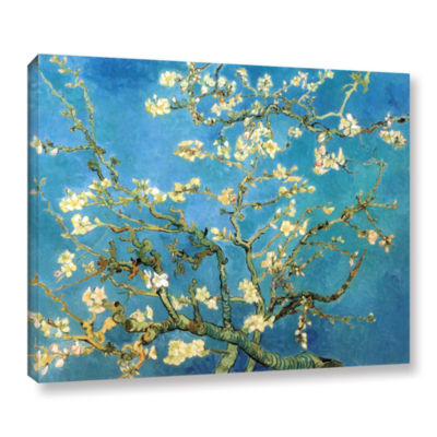 Brushstone Almond Blossom Gallery Wrapped Canvas Wall Art