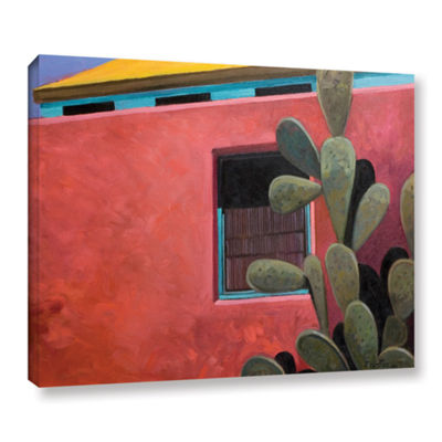 Brushstone Adobe Color Gallery Wrapped Canvas WallArt