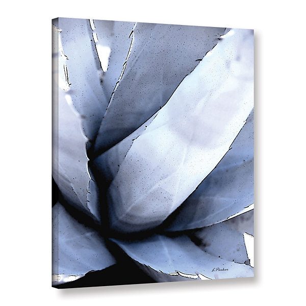 Brushstone Agave Portrait Gallery Wrapped Canvas Wall Art