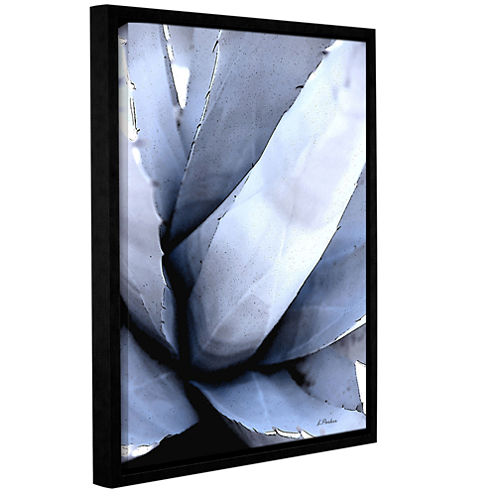 Agave Portrait Gallery Wrapped Floater-Framed Canvas Wall Art