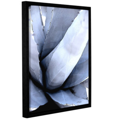 Brushstone Agave Portrait Gallery Wrapped Floater-Framed Canvas Wall Art