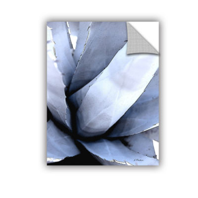 Brushstone Agave Portrait Removable Wall Decal