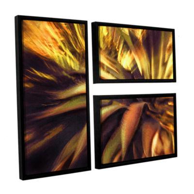 Brushstone Agave Puesta 3-pc. Flag Floater FramedCanvas Wall Art