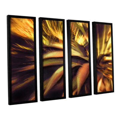 Brushstone Agave Puesta 4-pc. Floater Framed Canvas Wall Art