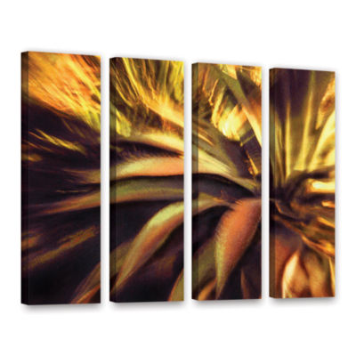 Brushstone Agave Puesta 4-pc. Gallery Wrapped Canvas Wall Art