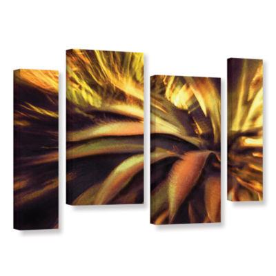 Brushstone Agave Puesta 4-pc. Gallery Wrapped Staggered Canvas Wall Art