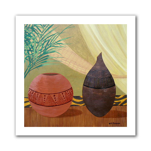 Brushstone African Style II Canvas Wall Art
