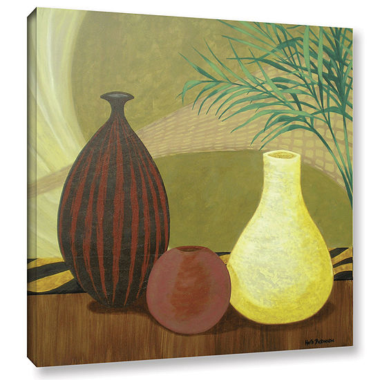 Brushstone African Style II Gallery Wrapped CanvasWall Art
