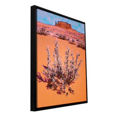Brushstone After desert rain Gallery Wrapped Floater-Framed Canvas Wall Art