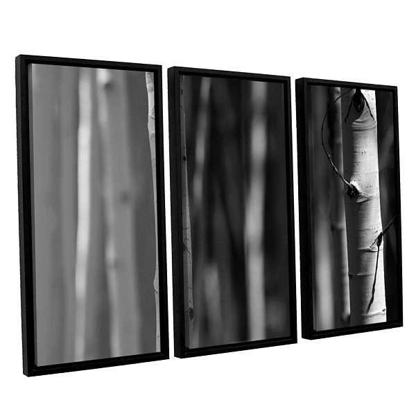 A Way Out 3-pc. Floater Framed Canvas Wall Art