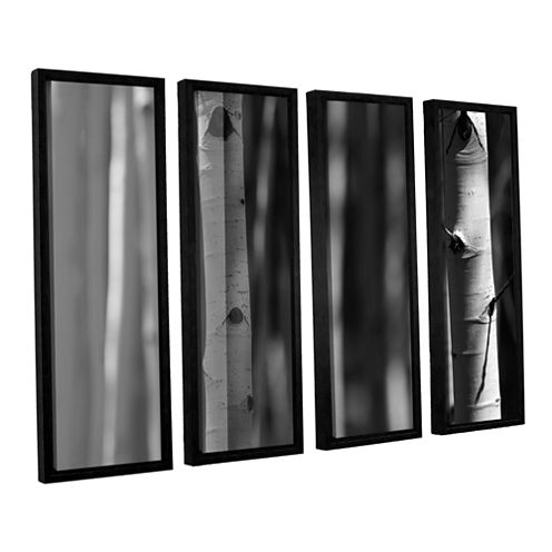 A Way Out 4-pc. Floater Framed Canvas Wall Art