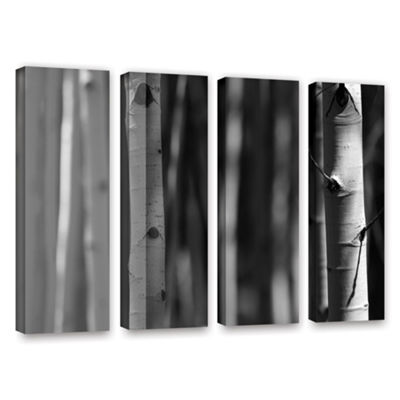 Brushstone A Way Out 4-pc. Gallery Wrapped CanvasWall Art
