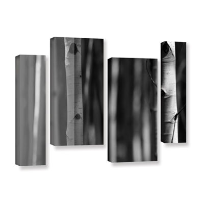 Brushstone A Way Out 4-pc. Gallery Wrapped Staggered Canvas Wall Art