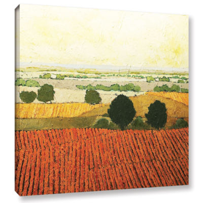 Brushstone After Harvest Gallery Wrapped Canvas Wall Art
