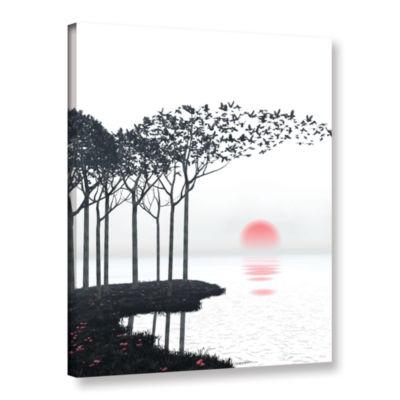 Brushstone Aki Gallery Wrapped Canvas Wall Art